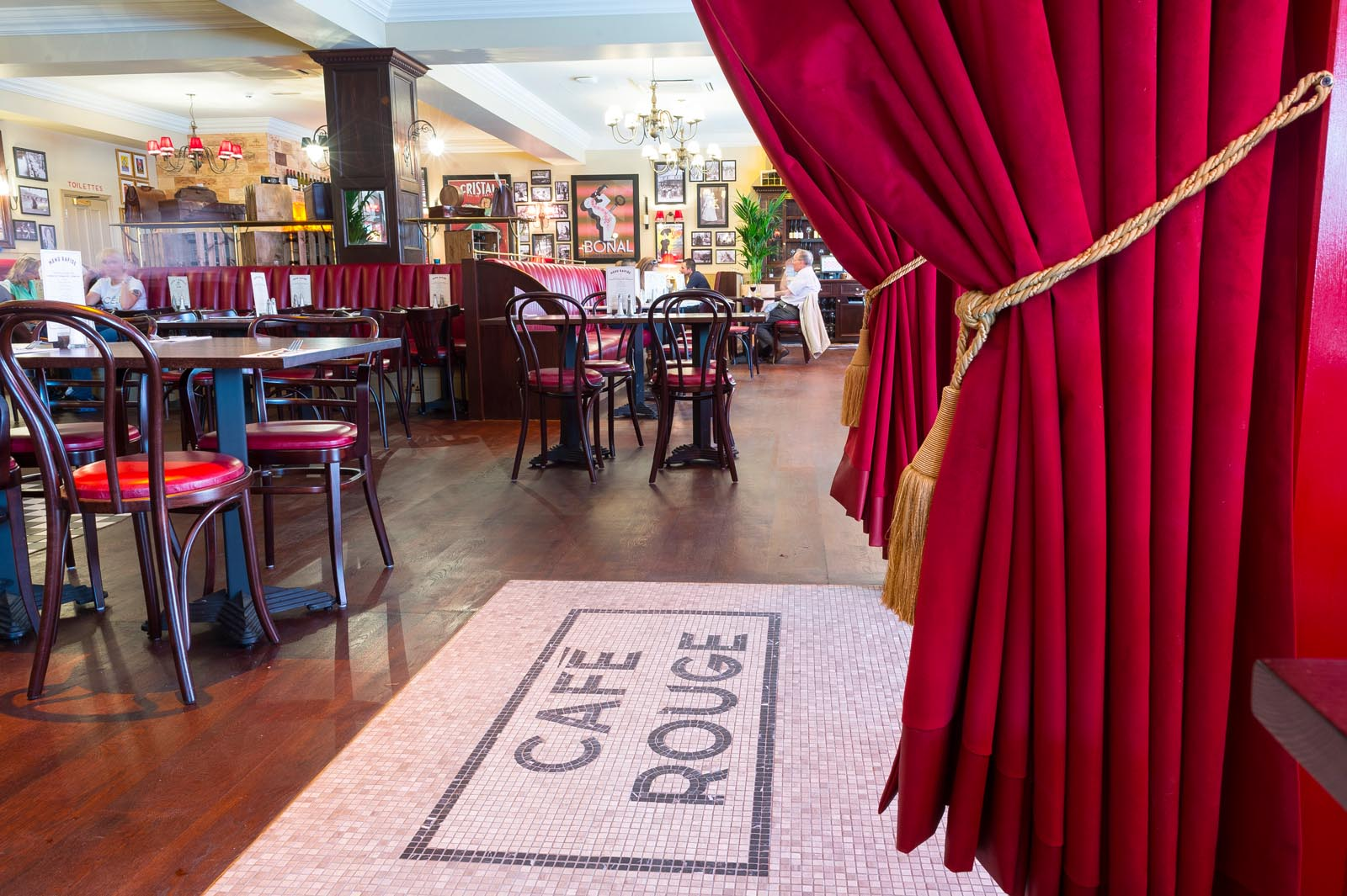 French cuisine at Cafe Rouge