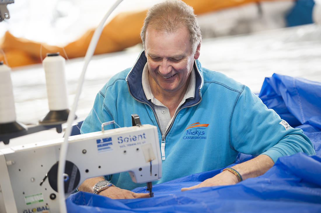 improve your sails with Nicky's Sail Clinic