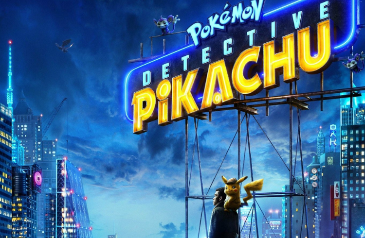 Pikachu Detective movie now showing at Brighton Marina