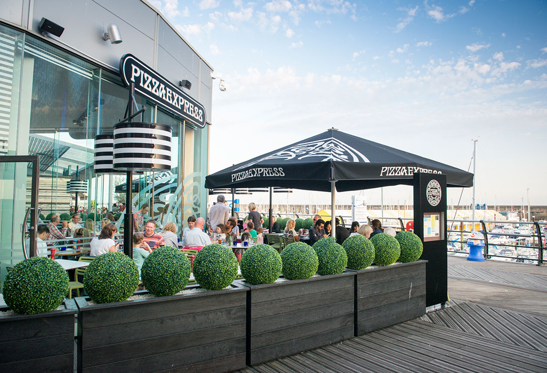 Pizza Express Brighton Marina