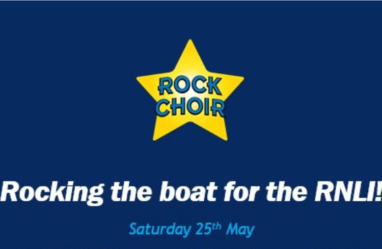 Rock Choir for RNLI at Brighton Marina