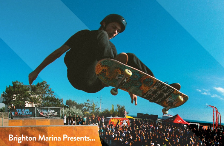 Team Extreme skateboarding event