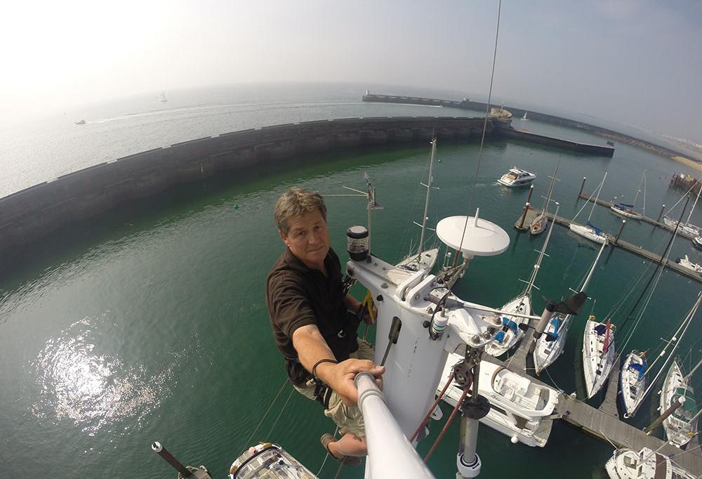 mike stevens yacht rigging Brighton Marina