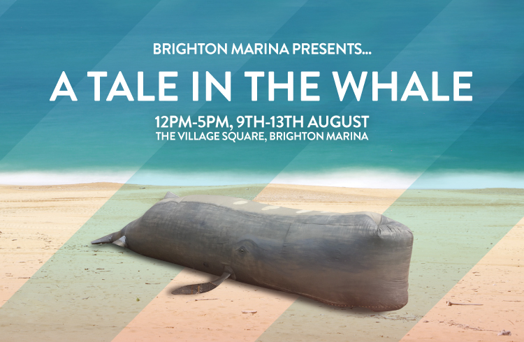 A take in the whale event poster