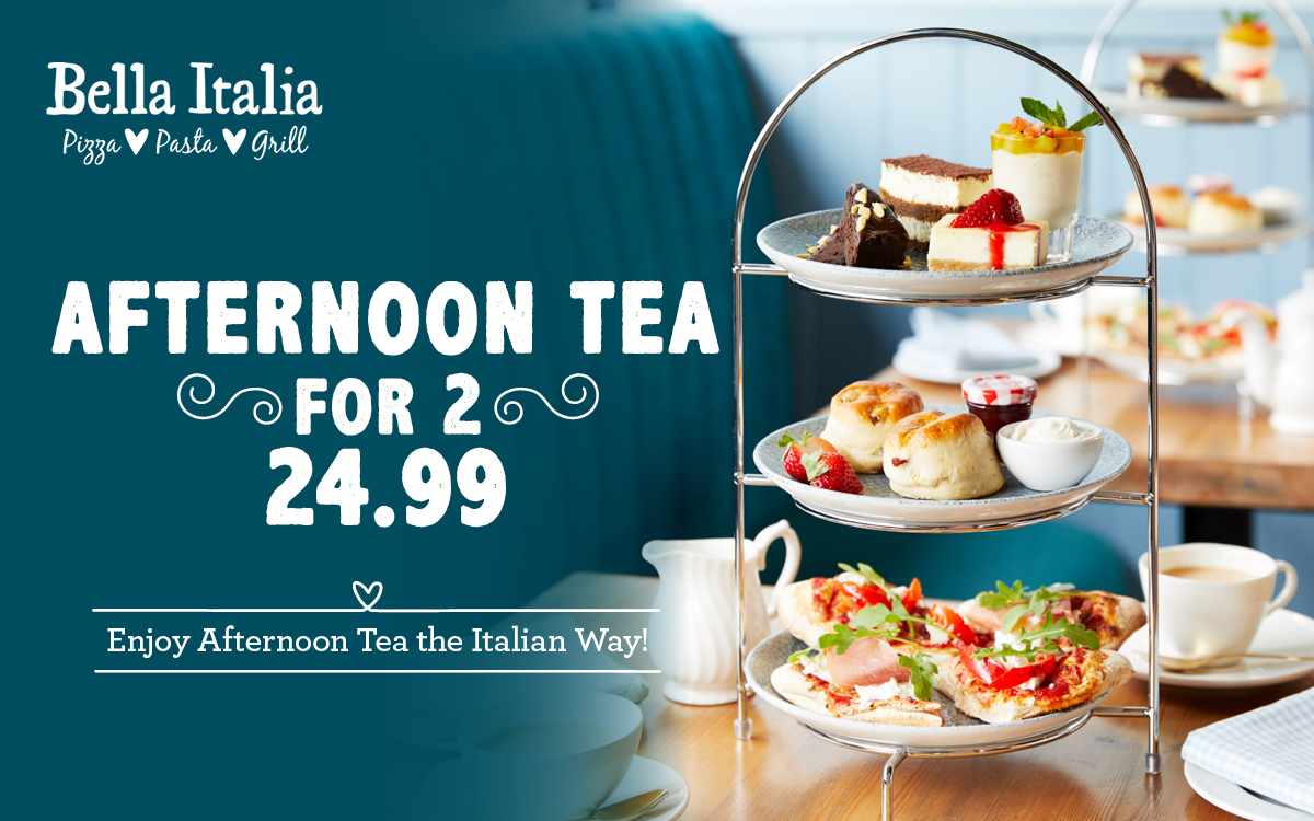 Bella Italia Afternoon Tea