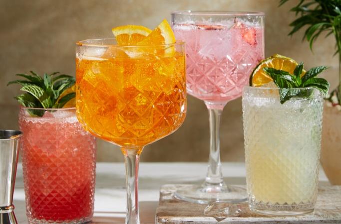 Cocktails at Bella Italia