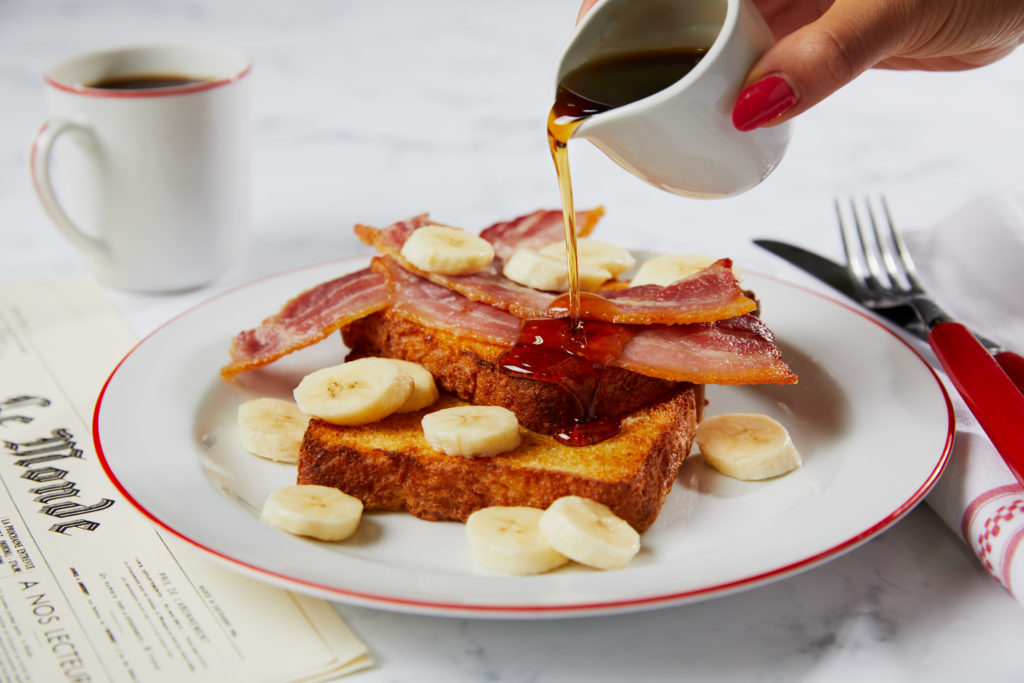 bacon and maple syrup toast cafe rouge