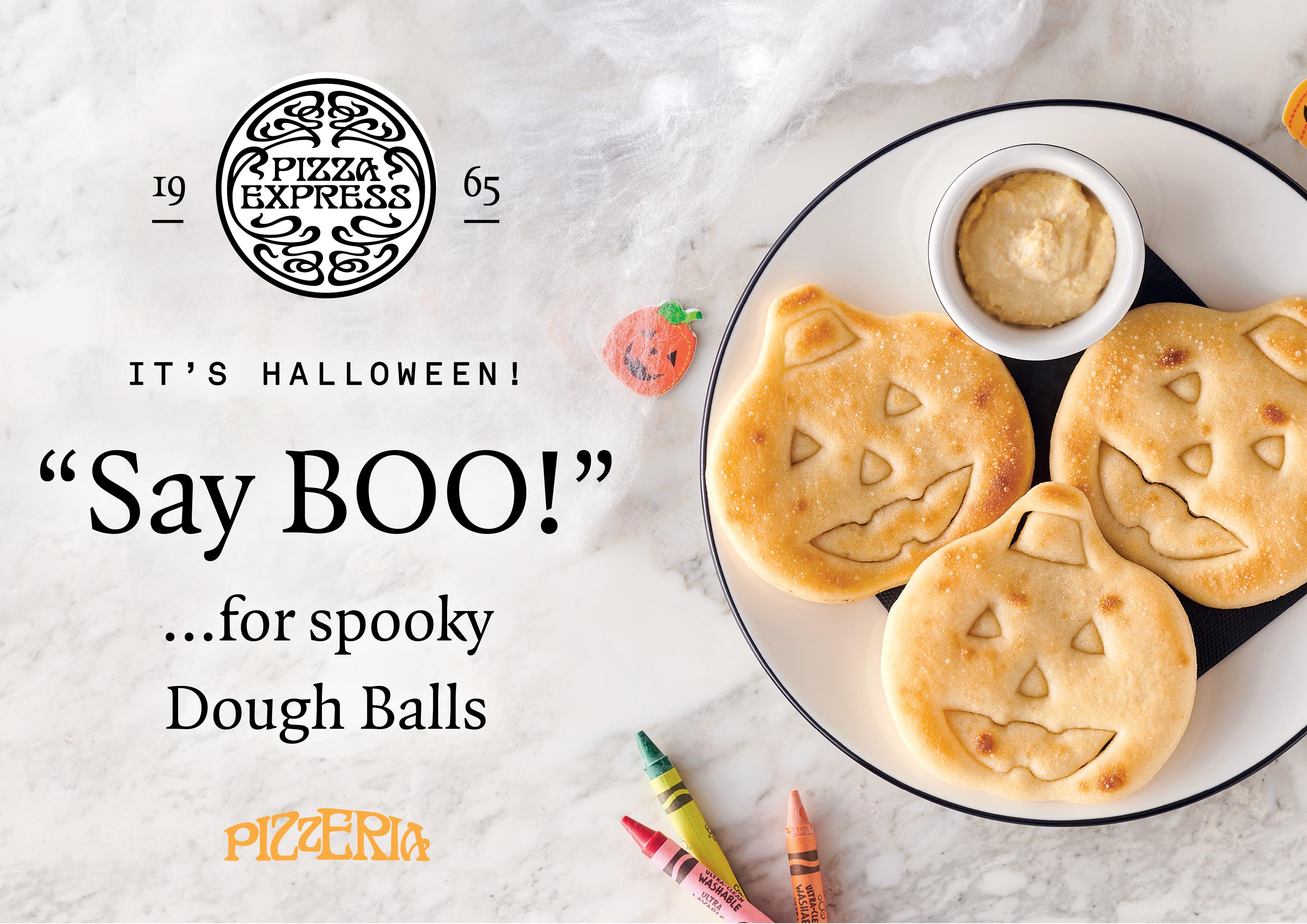 Spooky doughballs