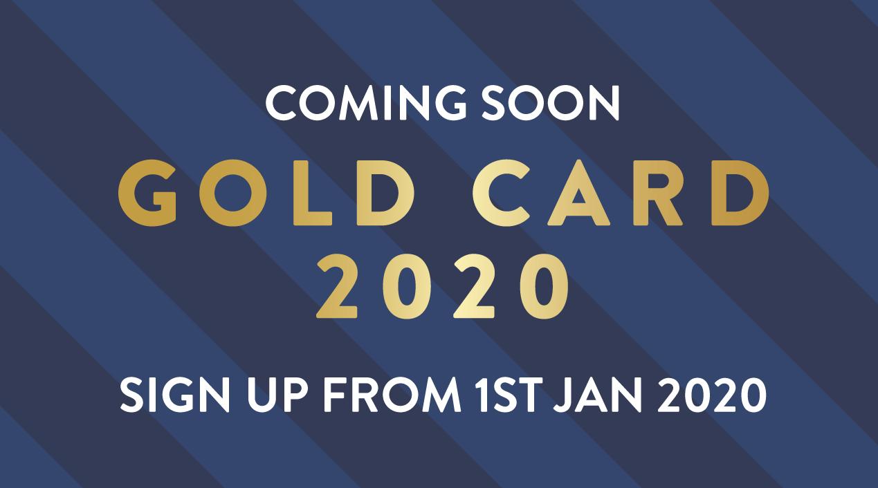 Brighton Marina Gold Card