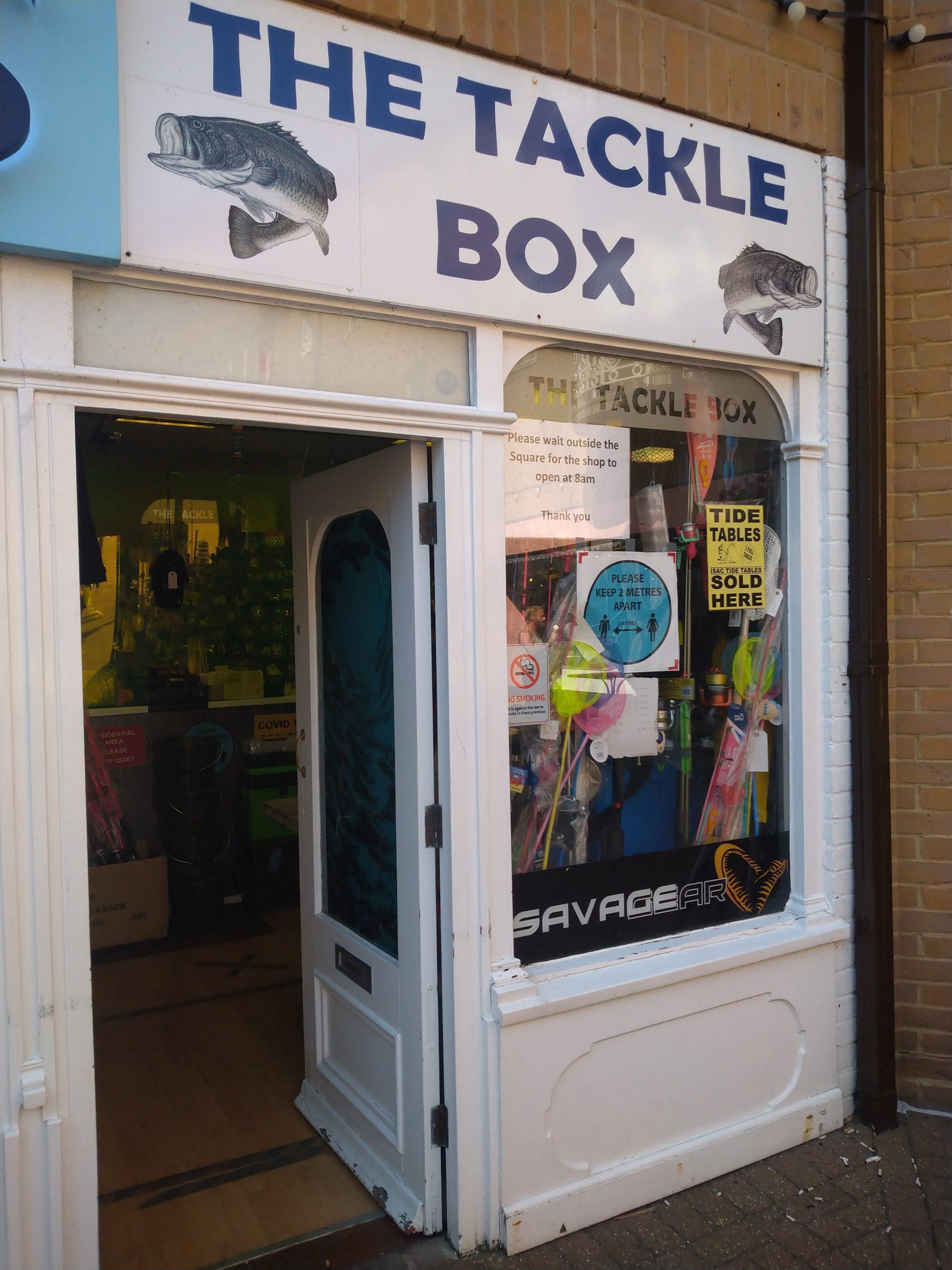 The Tackle Box Fishing Services Brighton Marina